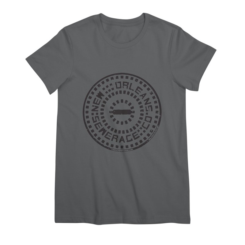 New Orleans Sewerage Co. Women's T-Shirt by NOLA 'Nacular's Shop