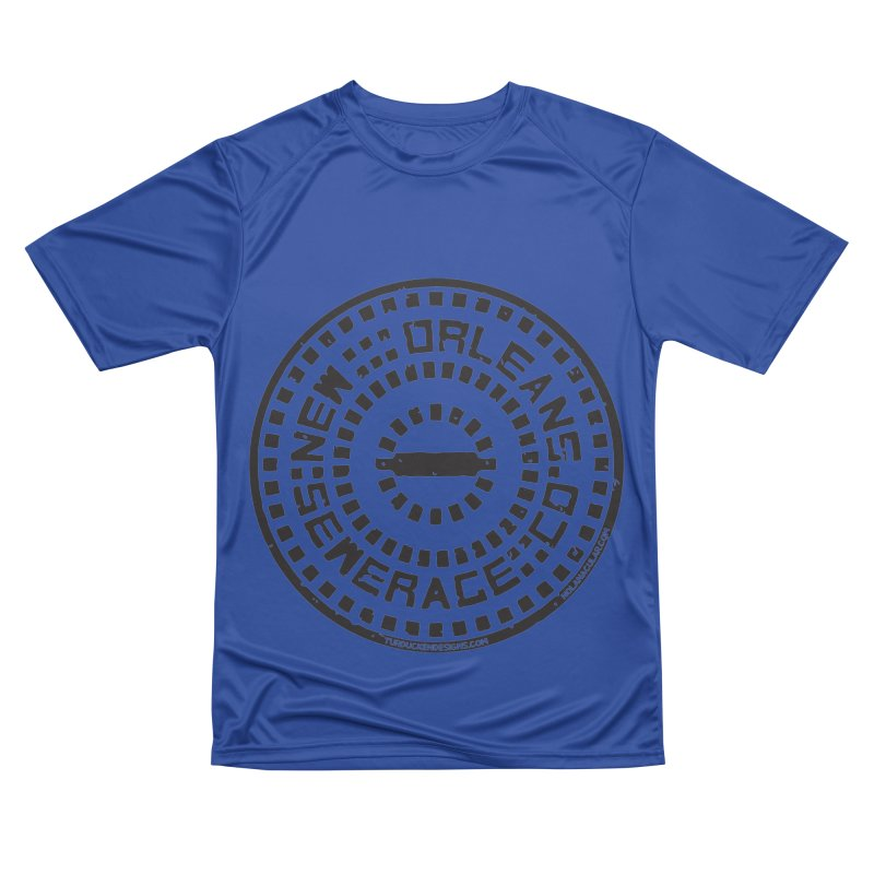 New Orleans Sewerage Co. Men's Performance T-Shirt by NOLA 'Nacular's Shop