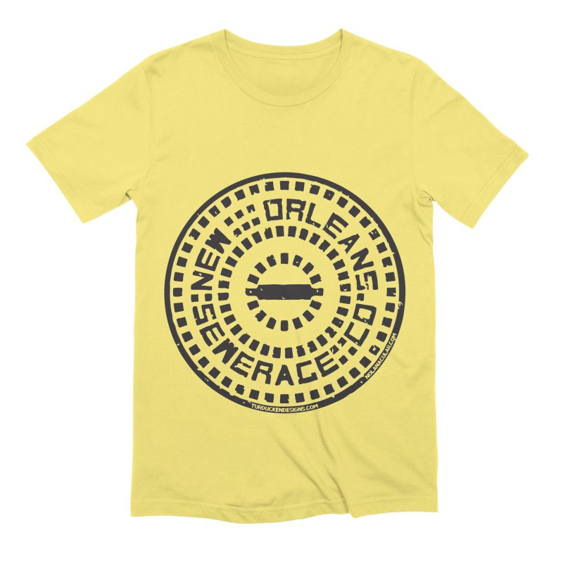 New Orleans Sewerage Co. Men's Extra Soft T-Shirt by NOLA 'Nacular's Shop