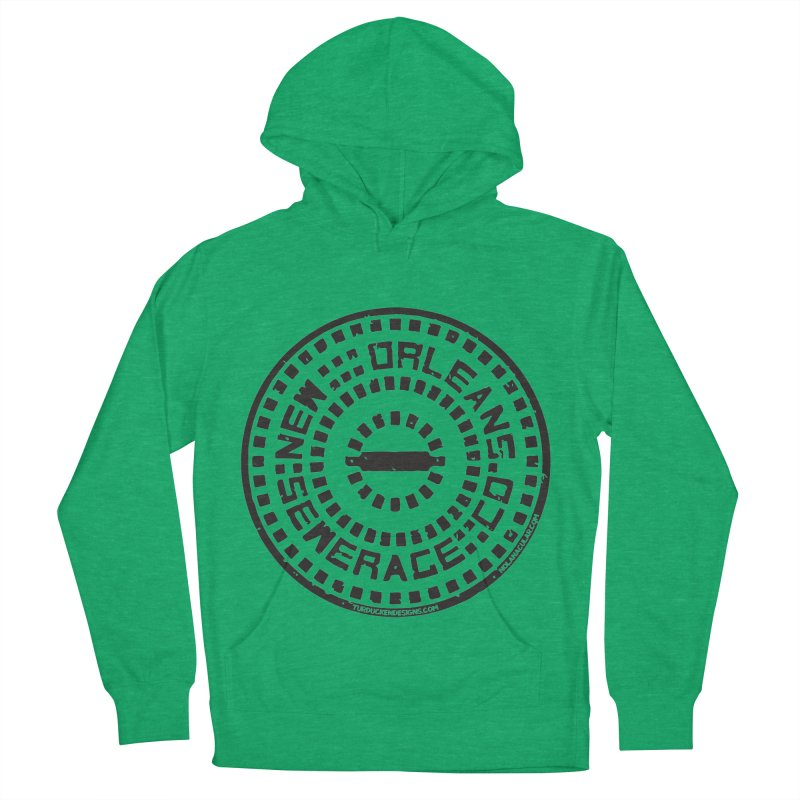 New Orleans Sewerage Co. Men's French Terry Pullover Hoody by NOLA 'Nacular's Shop