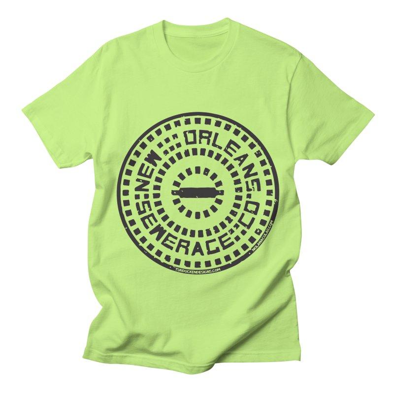 New Orleans Sewerage Co. Men's Regular T-Shirt by NOLA 'Nacular's Shop