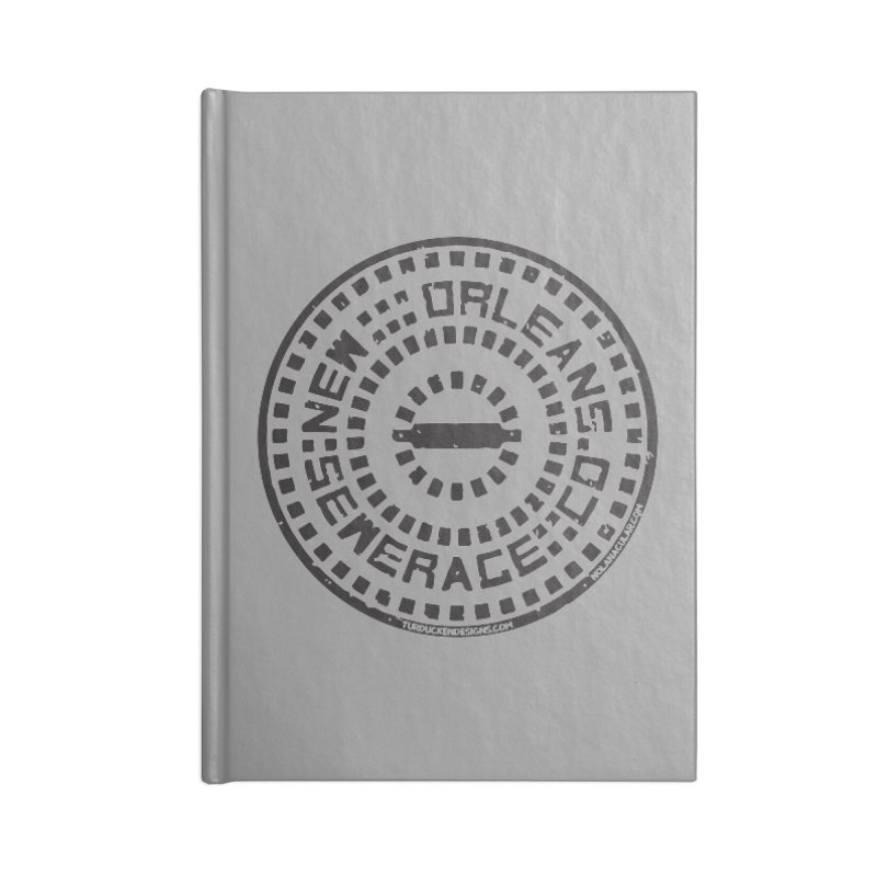 New Orleans Sewerage Co. Accessories Blank Journal Notebook by NOLA 'Nacular's Shop