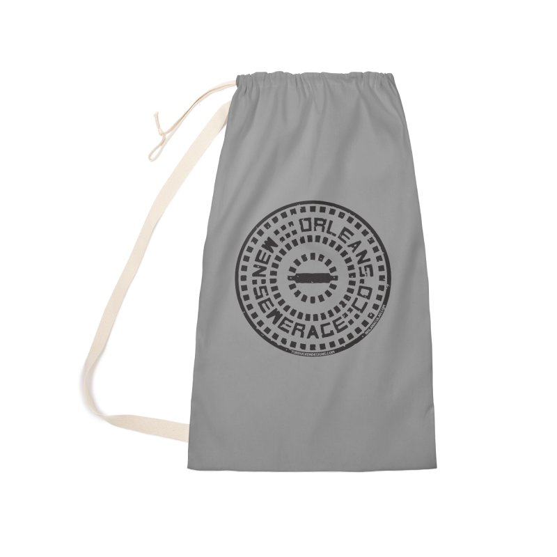 New Orleans Sewerage Co. Accessories Laundry Bag Bag by NOLA 'Nacular's Shop
