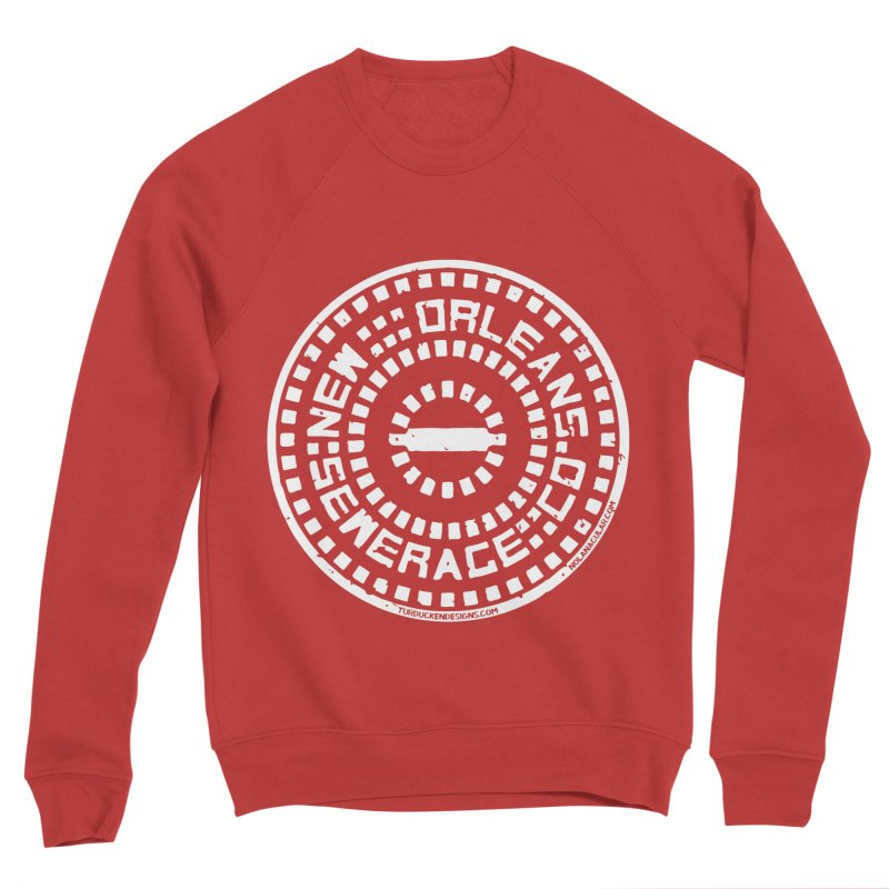 New Orleans Sewerage Co. Men's Sponge Fleece Sweatshirt by NOLA 'Nacular's Shop