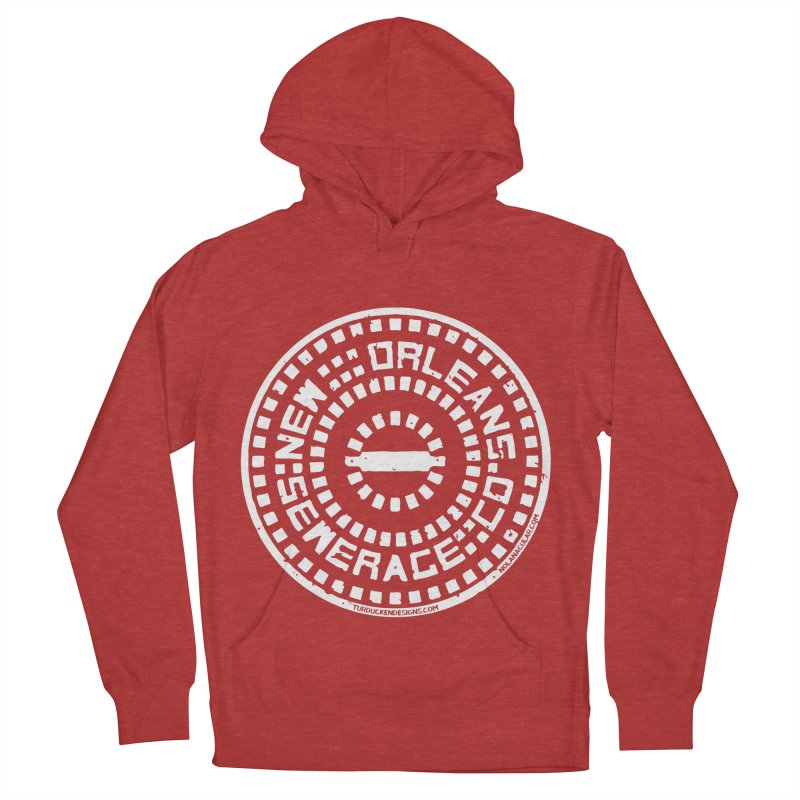 New Orleans Sewerage Co. Women's French Terry Pullover Hoody by NOLA 'Nacular's Shop