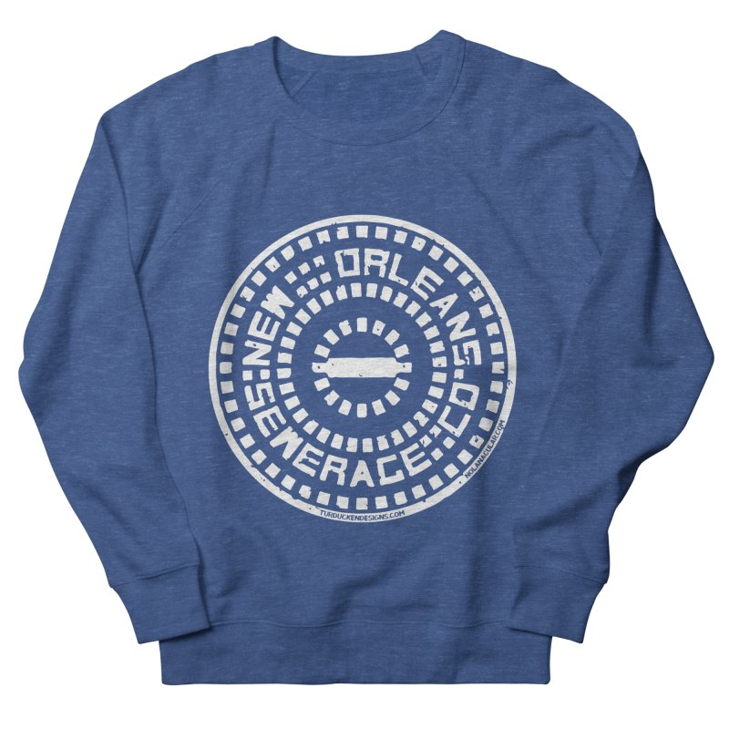 New Orleans Sewerage Co. Men's French Terry Sweatshirt by NOLA 'Nacular's Shop