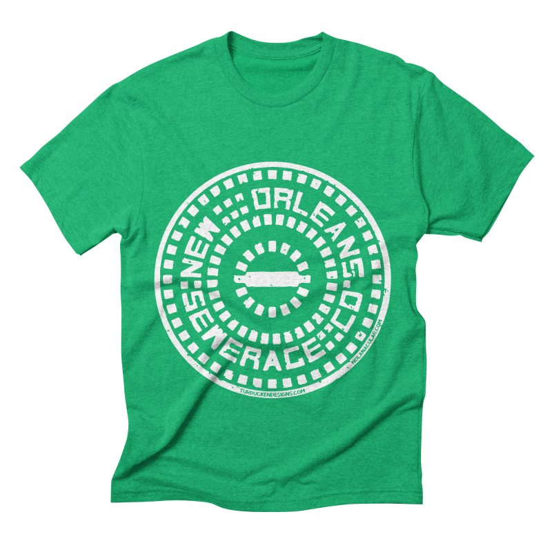 New Orleans Sewerage Co. Men's Triblend T-Shirt by NOLA 'Nacular's Shop