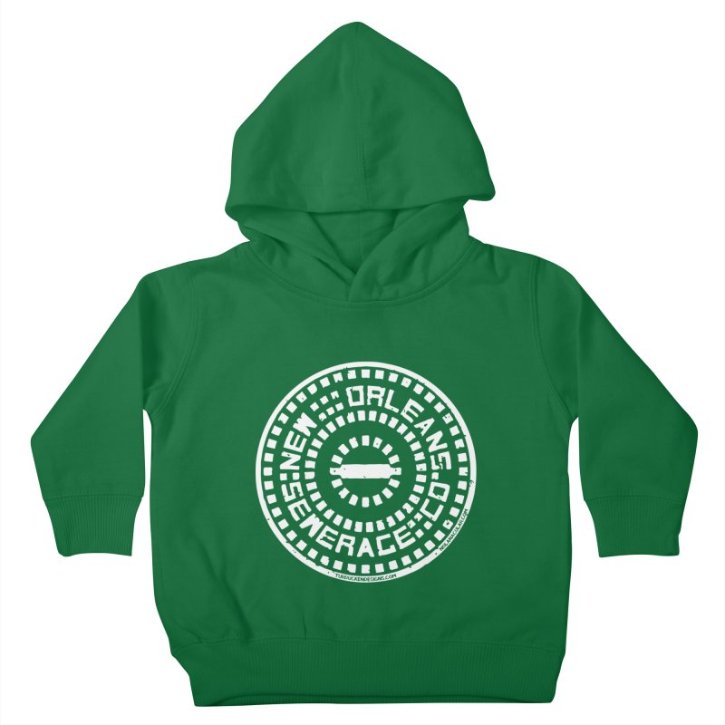 New Orleans Sewerage Co. Kids Toddler Pullover Hoody by NOLA 'Nacular's Shop