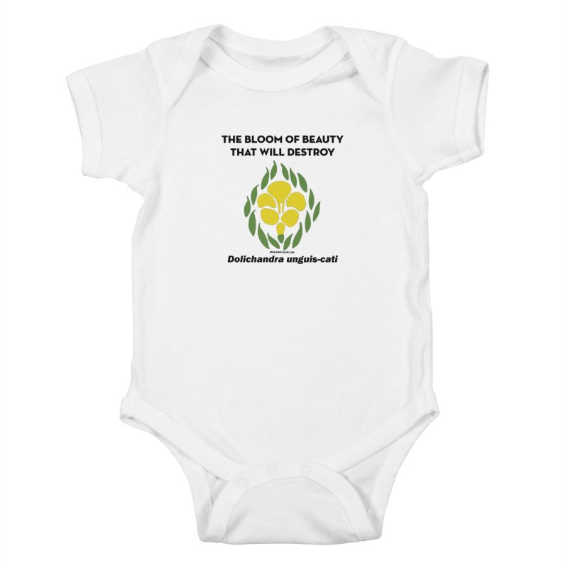 New Orleans Cat's Claw Bloom Kids Baby Bodysuit by NOLA 'Nacular's Shop