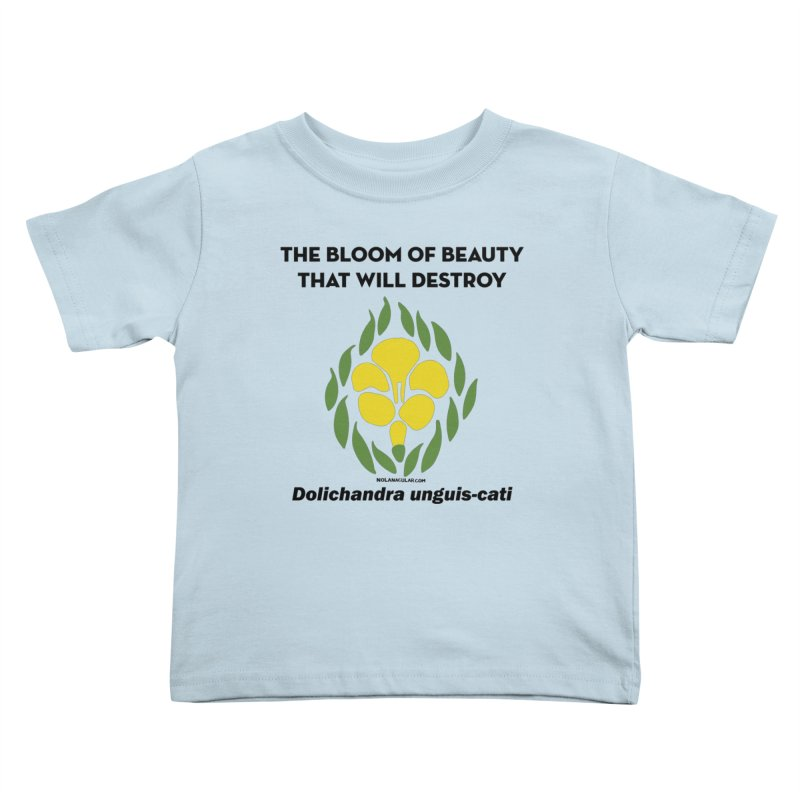 New Orleans Cat's Claw Bloom Kids Toddler T-Shirt by NOLA 'Nacular's Shop