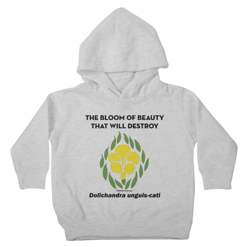 New Orleans Cat's Claw Bloom Kids Toddler Pullover Hoody by NOLA 'Nacular's Shop
