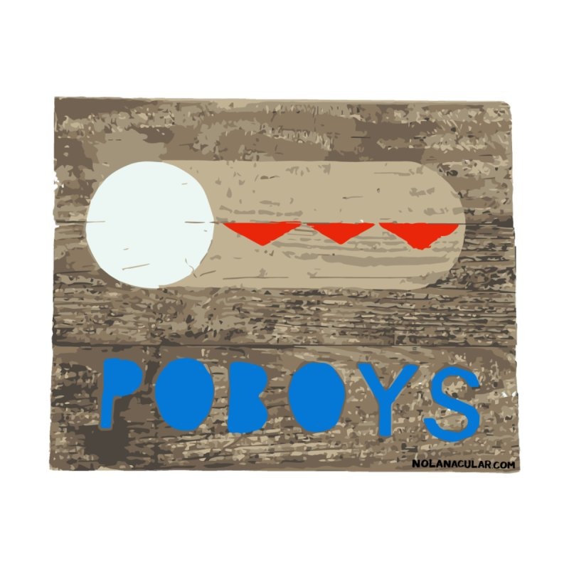 NOLA 'Nacular New Orleans Poboys Stencil Design by NOLA 'Nacular's Shop
