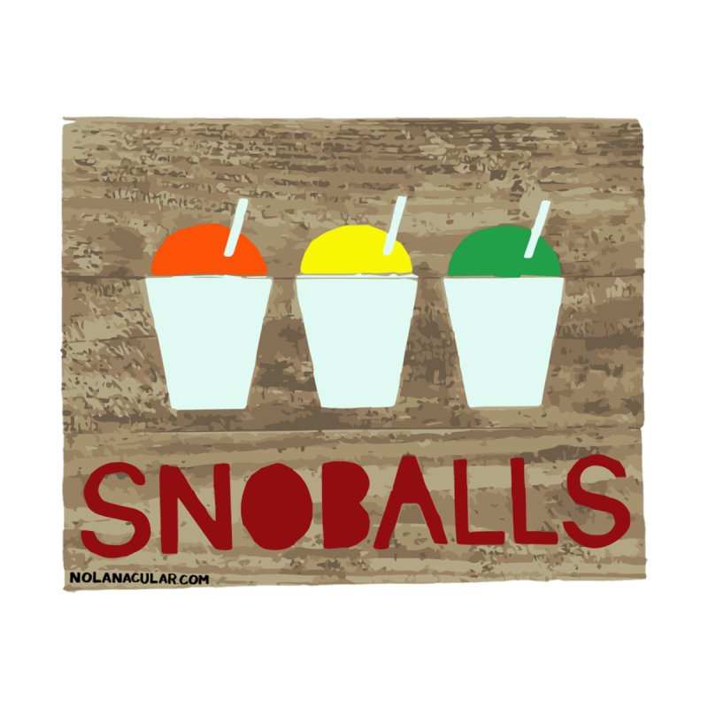NOLA 'Nacular New Orleans Snoballs Stencil Design by NOLA 'Nacular's Shop