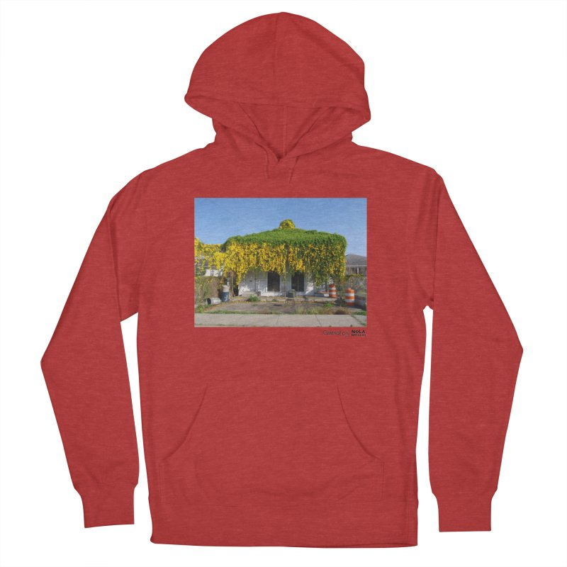 Cat's Claws in Central City Men's French Terry Pullover Hoody by NOLA 'Nacular's Shop