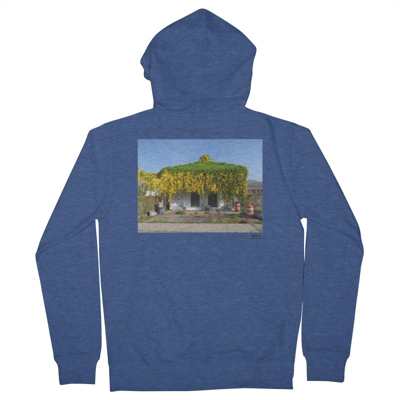 Cat's Claws in Central City Women's French Terry Zip-Up Hoody by NOLA 'Nacular's Shop