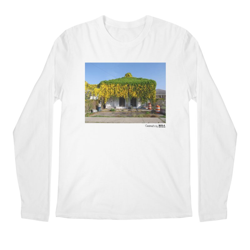Cat's Claws in Central City Men's Regular Longsleeve T-Shirt by NOLA 'Nacular's Shop