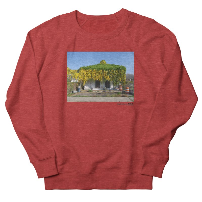 Cat's Claws in Central City Men's French Terry Sweatshirt by NOLA 'Nacular's Shop