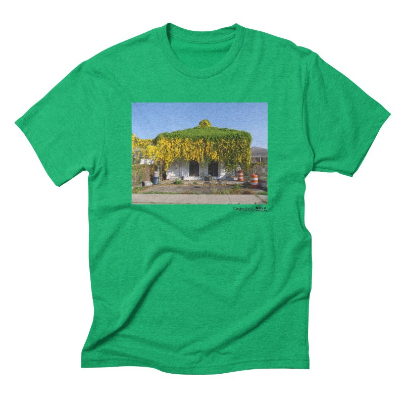 Cat's Claws in Central City Men's Triblend T-Shirt by NOLA 'Nacular's Shop