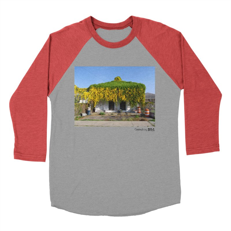 Cat's Claws in Central City Women's Baseball Triblend Longsleeve T-Shirt by NOLA 'Nacular's Shop