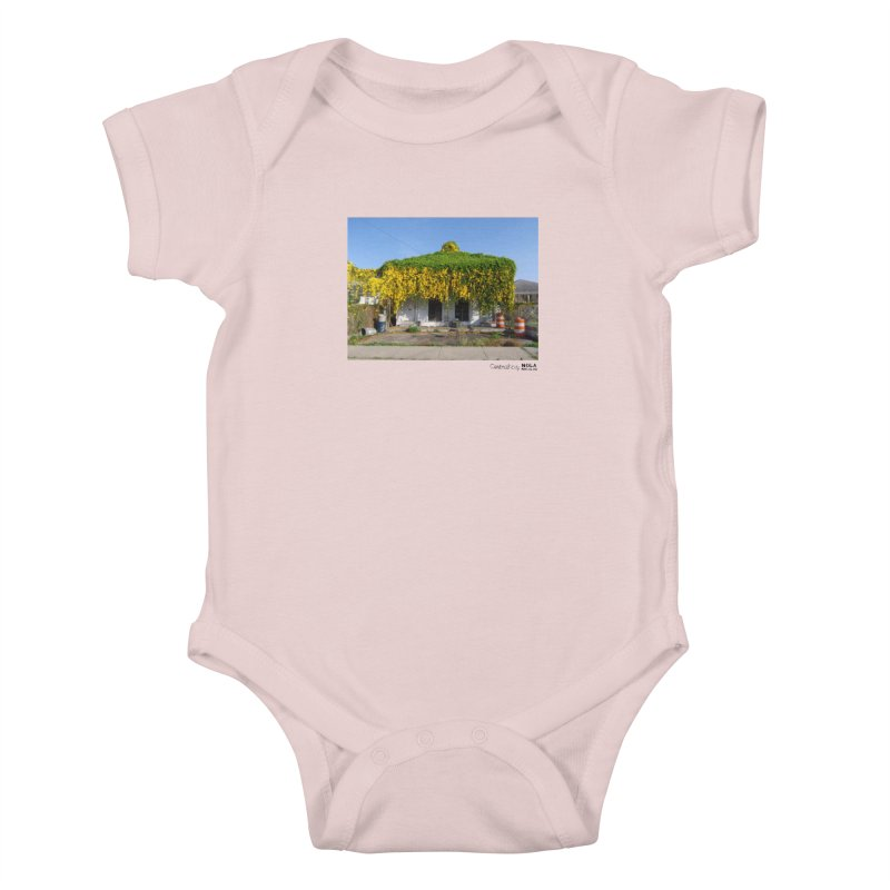 Cat's Claws in Central City Kids Baby Bodysuit by NOLA 'Nacular's Shop
