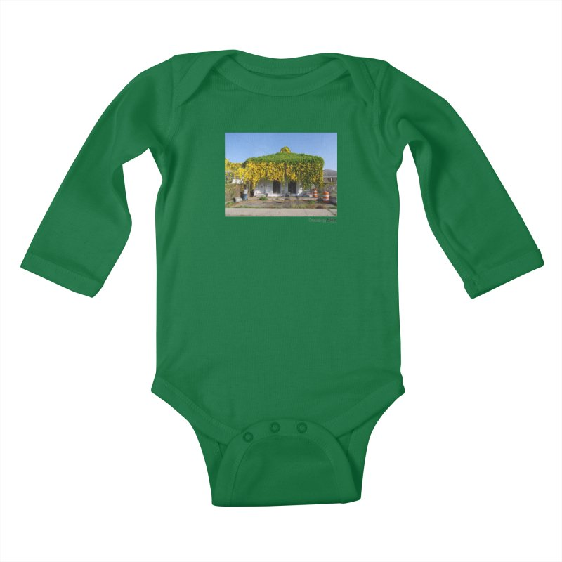 Cat's Claws in Central City Kids Baby Longsleeve Bodysuit by NOLA 'Nacular's Shop