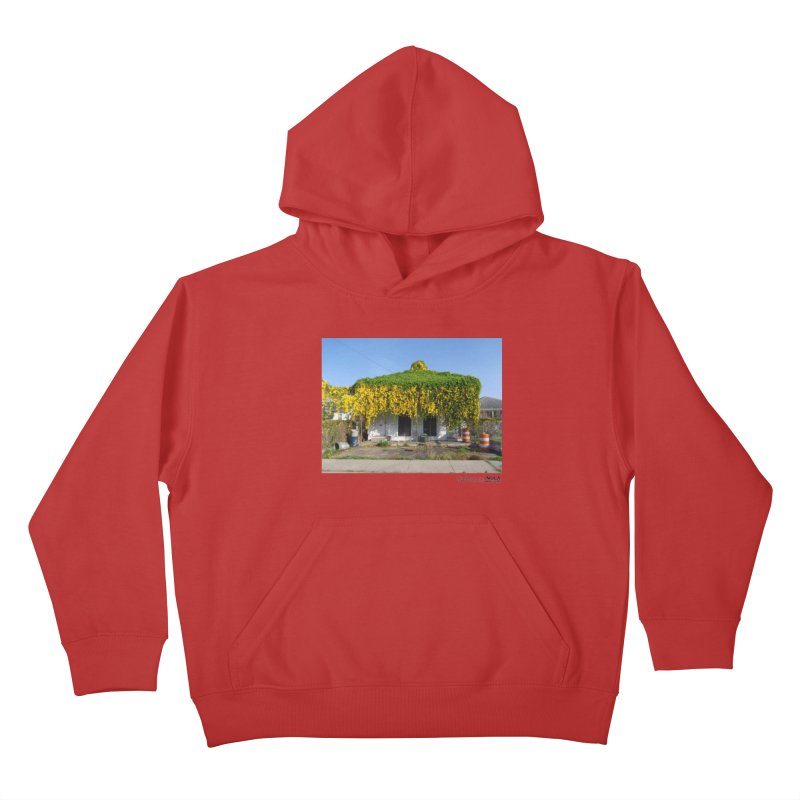 Cat's Claws in Central City Kids Pullover Hoody by NOLA 'Nacular's Shop