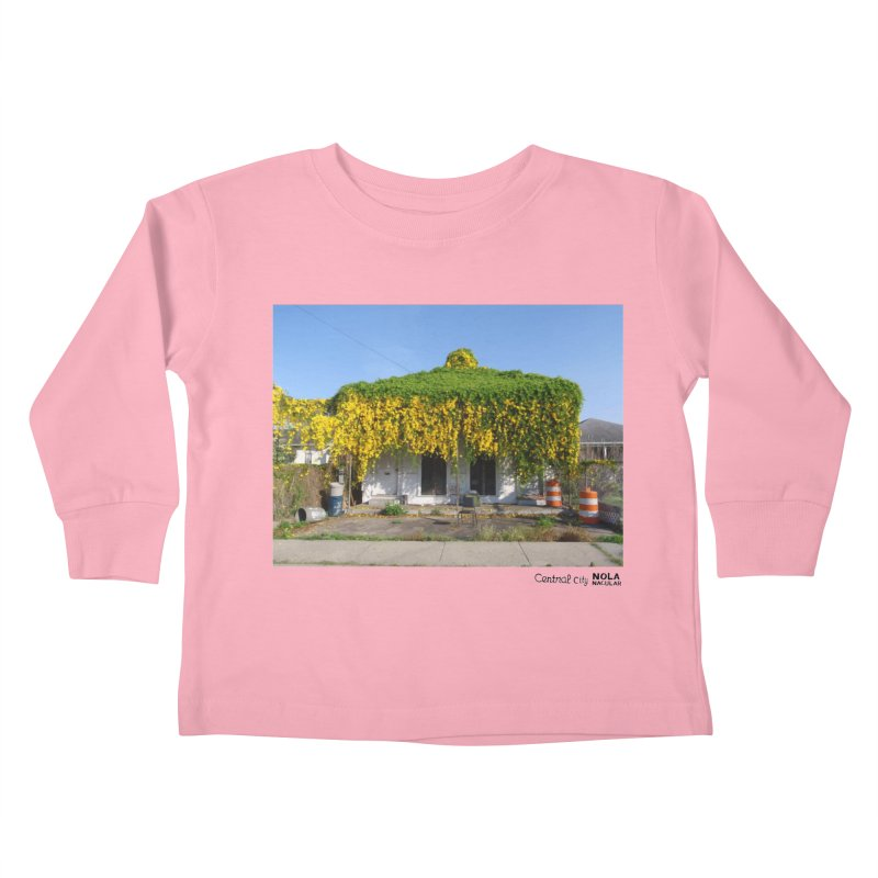 Cat's Claws in Central City Kids Toddler Longsleeve T-Shirt by NOLA 'Nacular's Shop