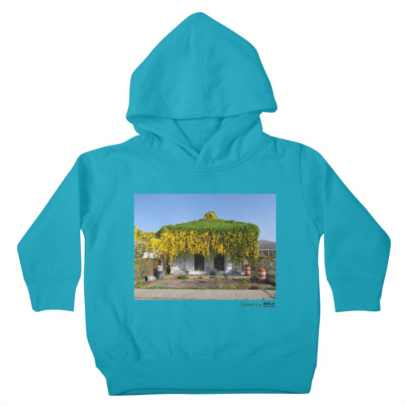Cat's Claws in Central City Kids Toddler Pullover Hoody by NOLA 'Nacular's Shop