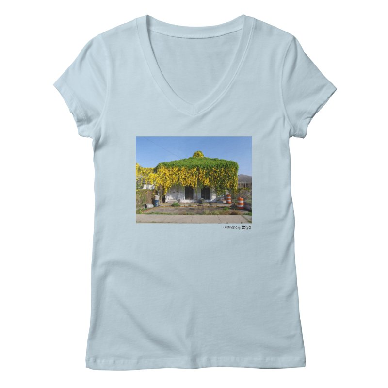 Cat's Claws in Central City Women's Regular V-Neck by NOLA 'Nacular's Shop