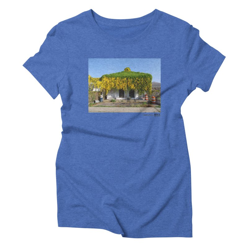 Cat's Claws in Central City Women's Triblend T-Shirt by NOLA 'Nacular's Shop