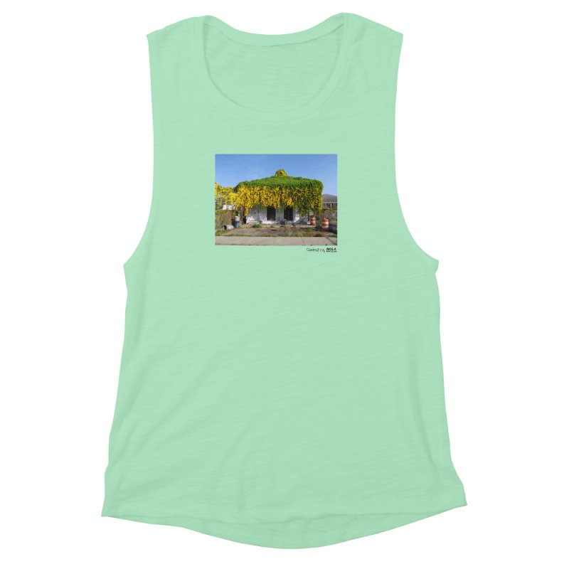Cat's Claws in Central City Women's Muscle Tank by NOLA 'Nacular's Shop