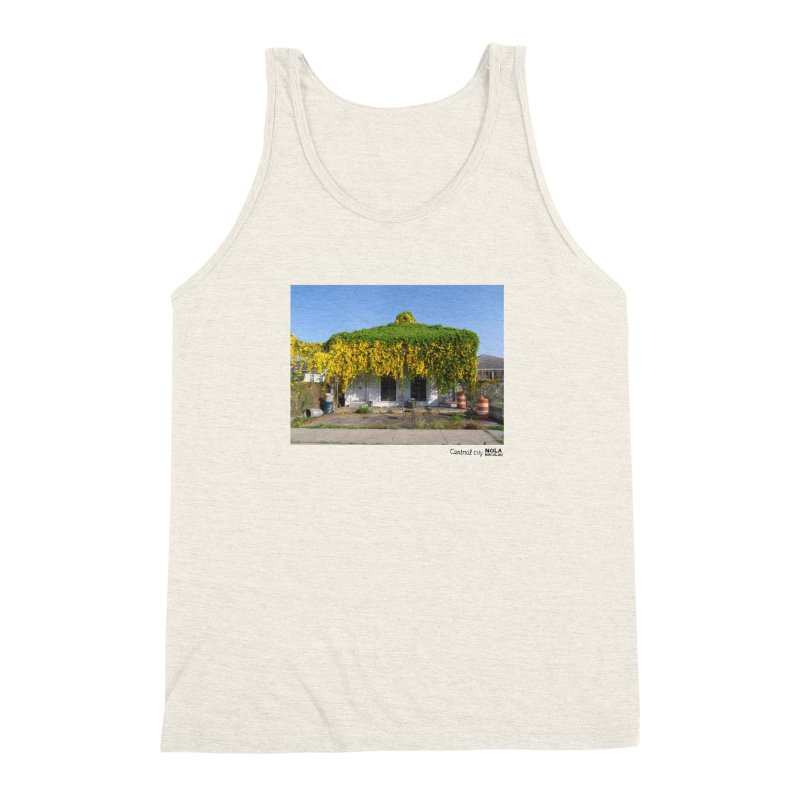 Cat's Claws in Central City Men's Triblend Tank by NOLA 'Nacular's Shop