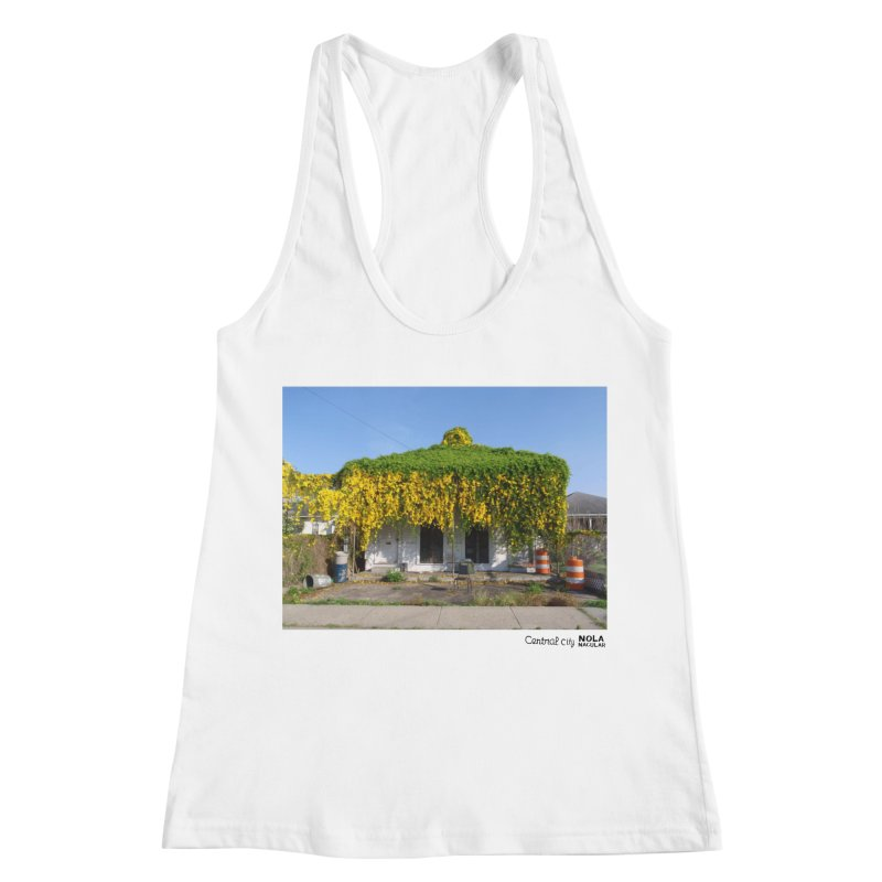 Cat's Claws in Central City Women's Racerback Tank by NOLA 'Nacular's Shop
