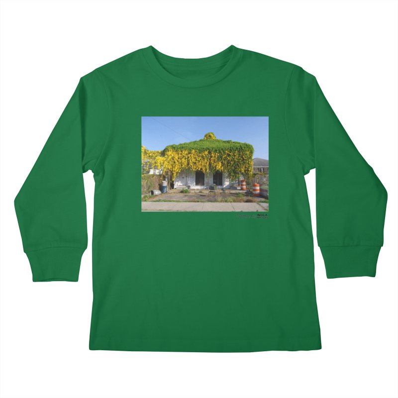 Cat's Claws in Central City Kids Longsleeve T-Shirt by NOLA 'Nacular's Shop