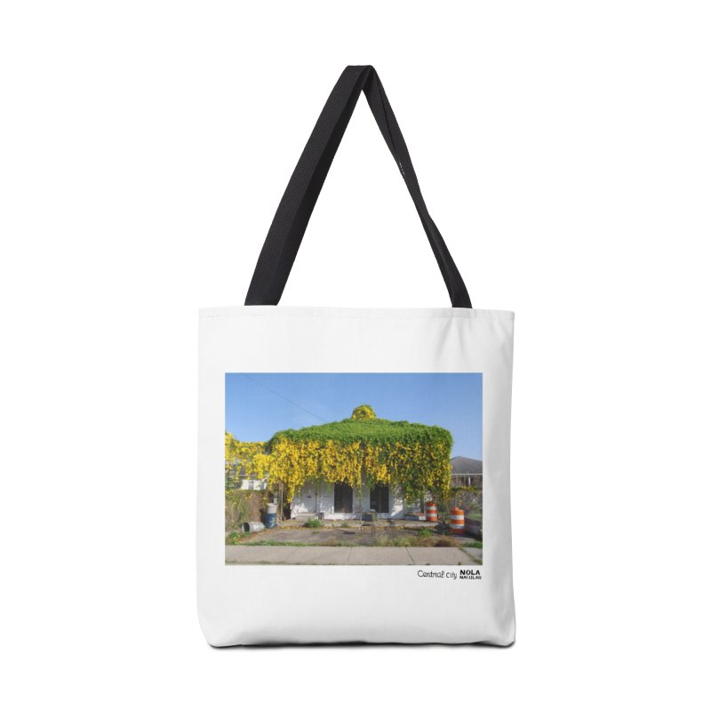 Cat's Claws in Central City Accessories Tote Bag Bag by NOLA 'Nacular's Shop