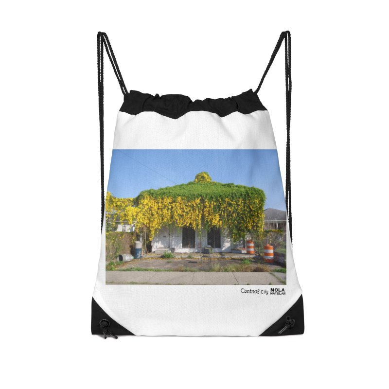 Cat's Claws in Central City Accessories Drawstring Bag Bag by NOLA 'Nacular's Shop