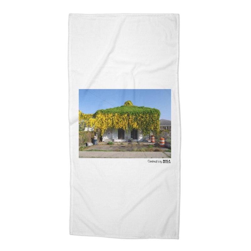 Cat's Claws in Central City Accessories Beach Towel by NOLA 'Nacular's Shop