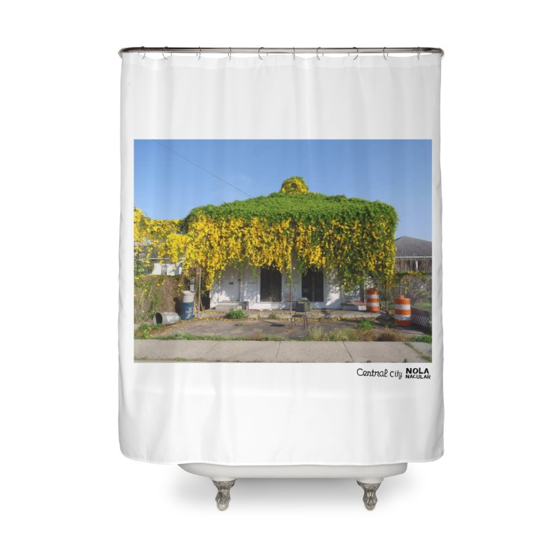 Cat's Claws in Central City Home Shower Curtain by NOLA 'Nacular's Shop