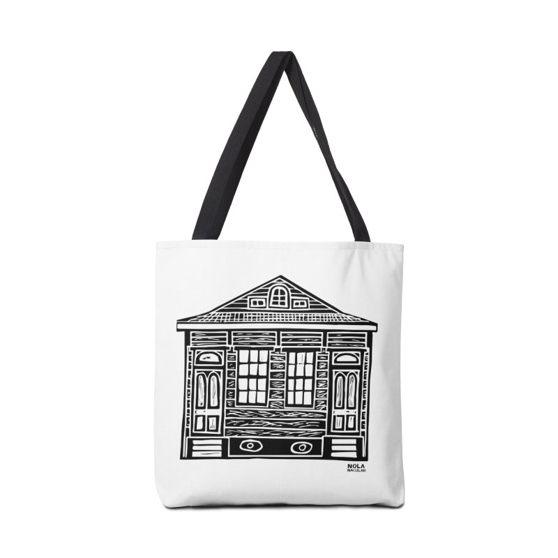 Four Bay Shot Gun in black Accessories Tote Bag Bag by NOLA 'Nacular's Shop