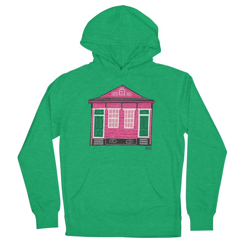 Four Bay Shot Gun in color Women's French Terry Pullover Hoody by NOLA 'Nacular's Shop