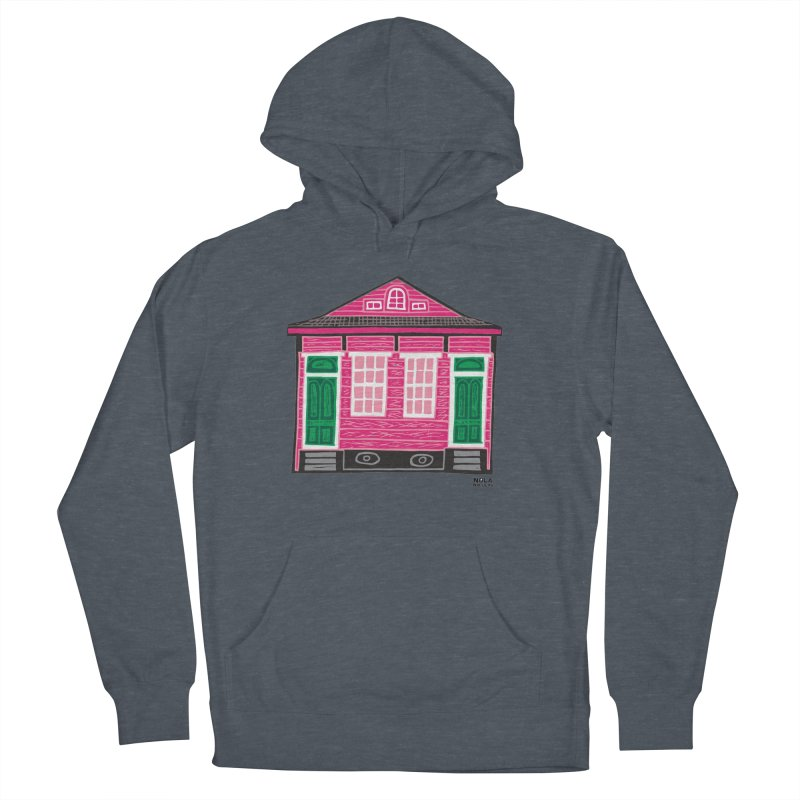 Four Bay Shot Gun in color Men's French Terry Pullover Hoody by NOLA 'Nacular's Shop