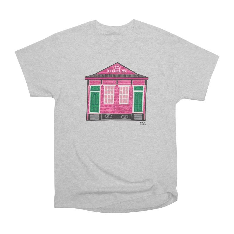 Four Bay Shot Gun in color Men's Heavyweight T-Shirt by NOLA 'Nacular's Shop