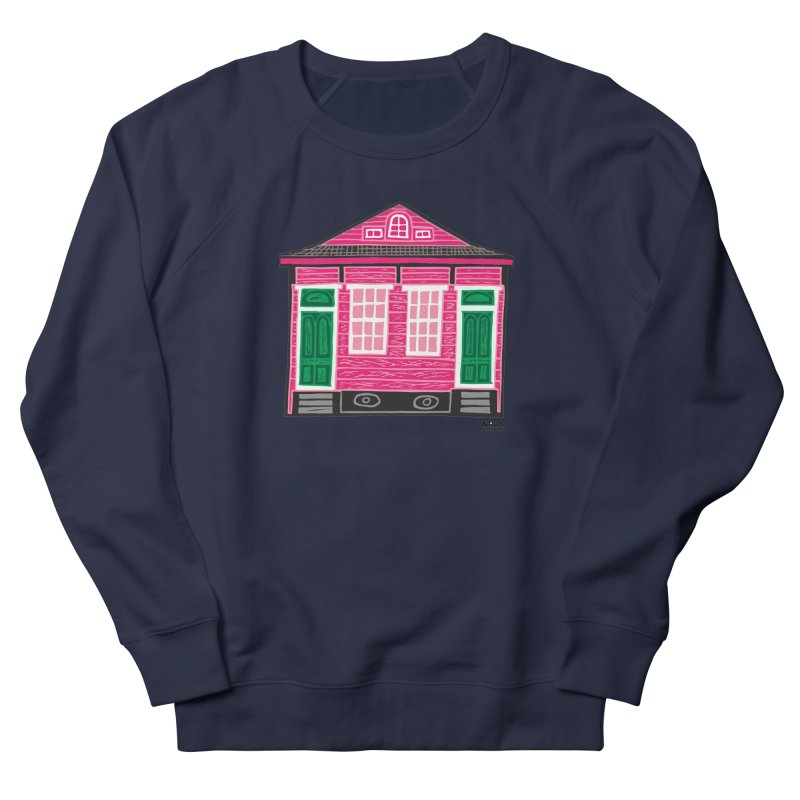 Four Bay Shot Gun in color Women's French Terry Sweatshirt by NOLA 'Nacular's Shop