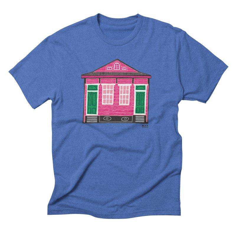 Four Bay Shot Gun in color Men's Triblend T-Shirt by NOLA 'Nacular's Shop