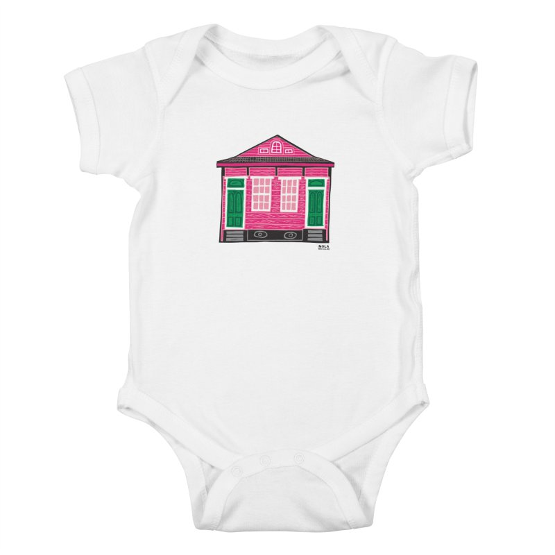 Four Bay Shot Gun in color Kids Baby Bodysuit by NOLA 'Nacular's Shop