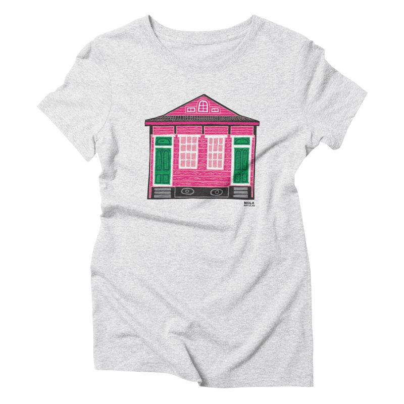 Four Bay Shot Gun in color Women's T-Shirt by NOLA 'Nacular's Shop