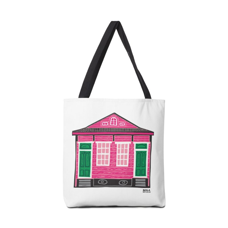 Four Bay Shot Gun in color Accessories Tote Bag Bag by NOLA 'Nacular's Shop