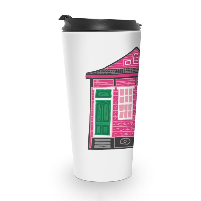 Four Bay Shot Gun in color Accessories Travel Mug by NOLA 'Nacular's Shop
