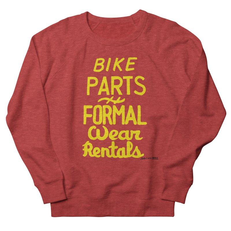 NOLA 'Nacular Bike Parts Formal Wear Rentals hand-painted sign by Lester Carey Women's Sweatshirt by NOLA 'Nacular's Shop