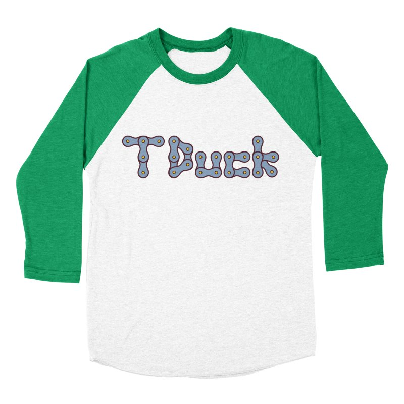 TDuck Men's Baseball Triblend Longsleeve T-Shirt by NOLA 'Nacular's Shop